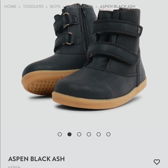Bobux Shoes   Bobux Aspen Black Boot